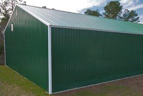 Metal Barn Kits >> Armour Metals Pole Barns - Metal Roofing and Pole Barns