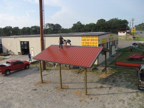 Armour Metals Pole Barns Metal Roofing And Pole Barns