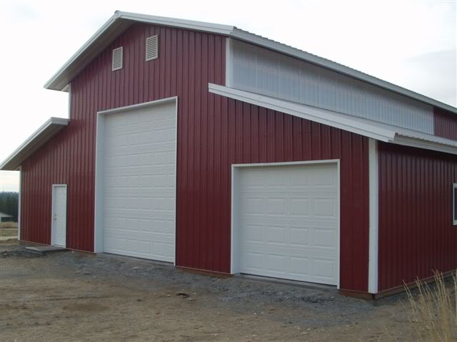Armour metals pole barns metal roofing and pole barns for Metal pole building plans