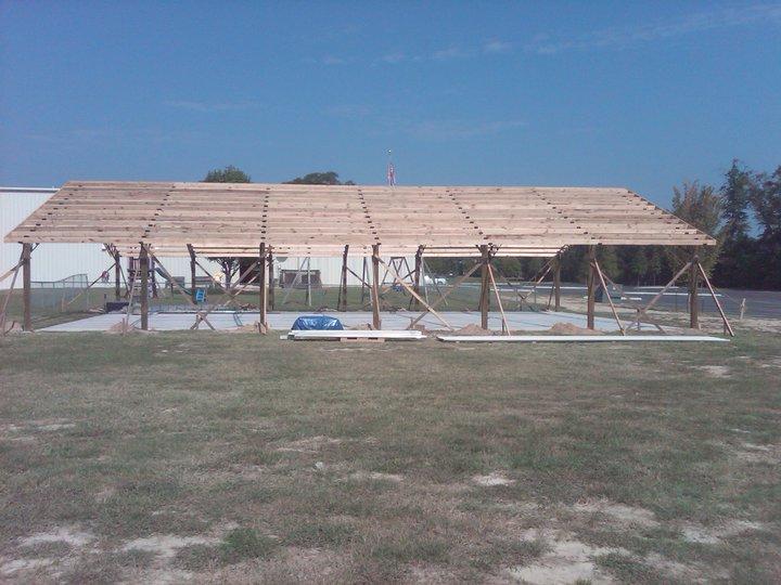 Armour metals pole barns metal roofing and pole barns for 24x40 garage kit