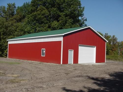 Armour metals pole barns metal roofing and pole barns Residential pole barn kits