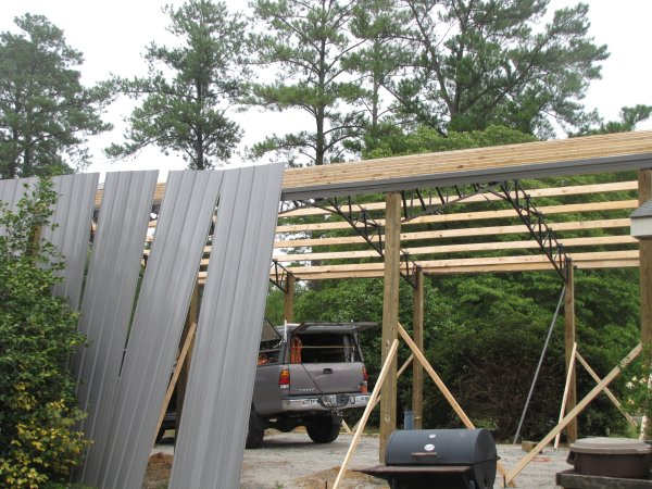 40x60x16 Garage Warehouse Shop Pole Barn Steel Building